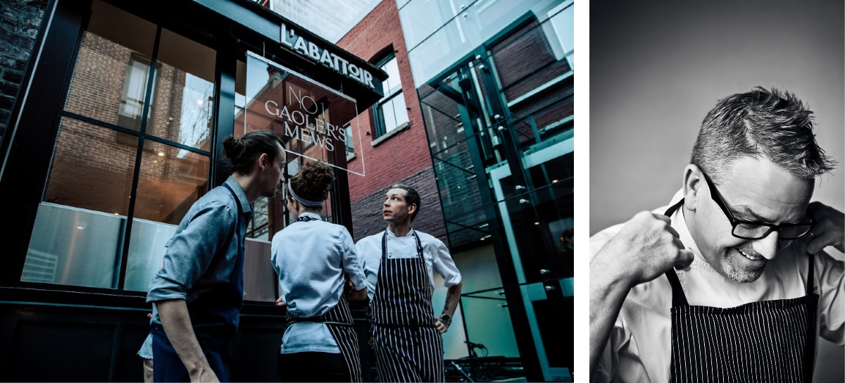 No. 1 Gaoler's Mews dinner featuring Iron Chef Rob Feenie on November 8th – Bidding starts on September 30th