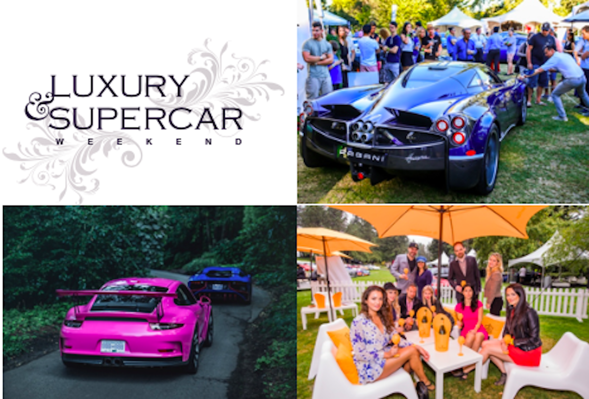 Luxury & Supercar Weekend Gears Up for its 10th Anniversary September 7 & 8