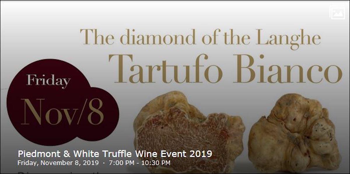 The Terroir Of Piemonte Dinner Event – Friday, November 8th