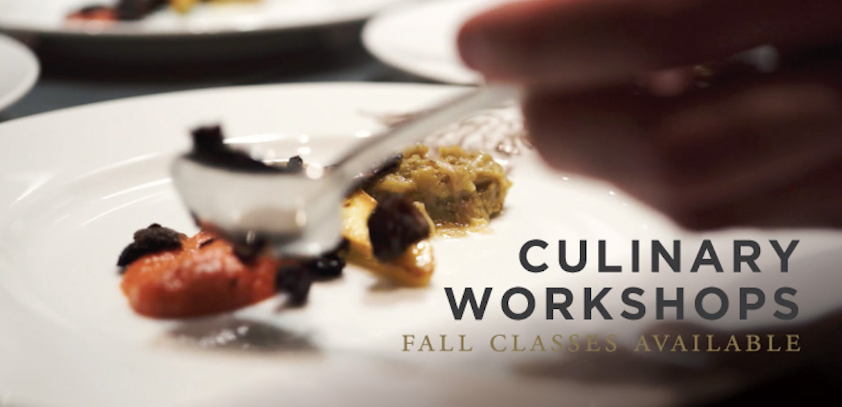 What's happening this Fall at Mission Hill – Culinary Workshops
