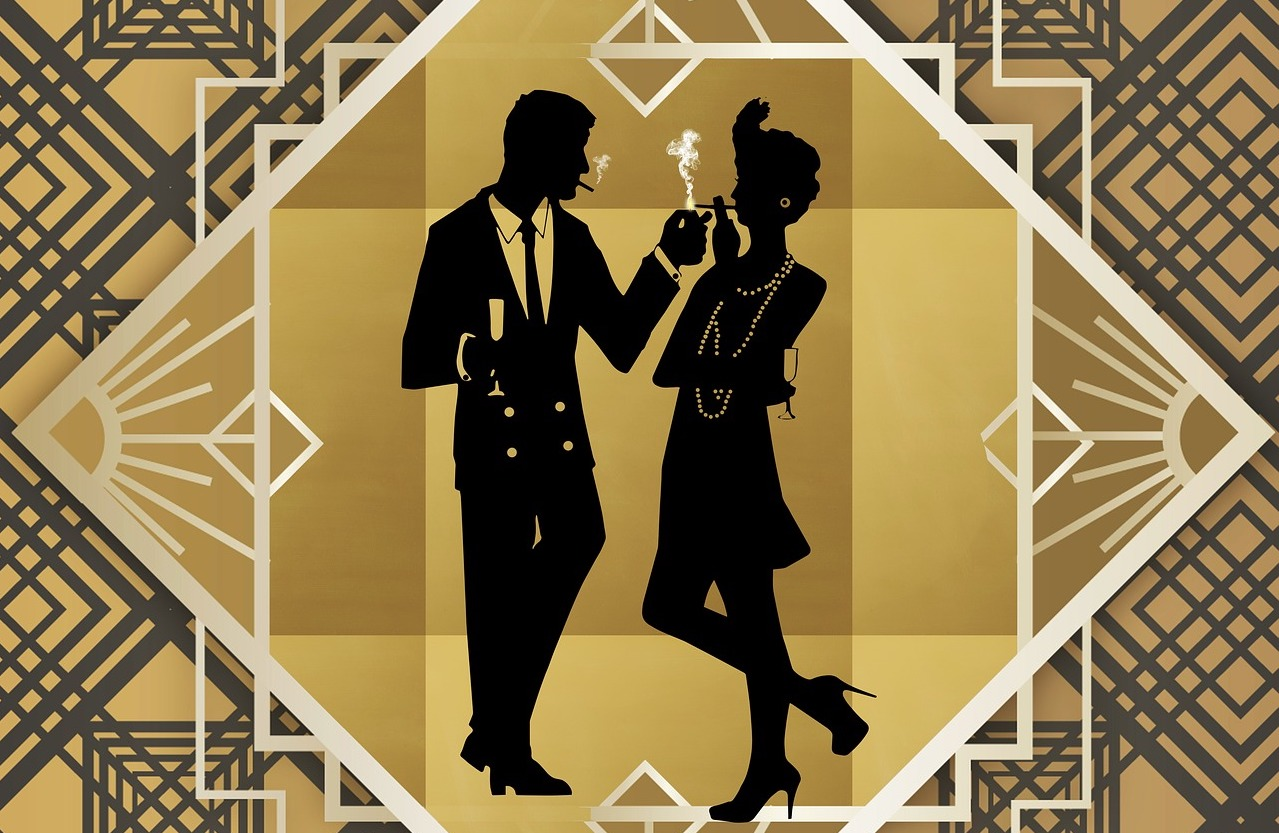 Halloween Gala – Great Gatsby – Live Clue Game at Water Street Cafe