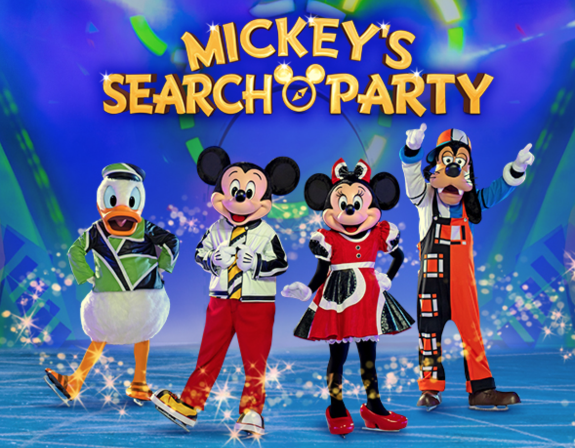 #GIVEAWAY Disney on Ice Presents Mickey's Search Party skates into Vancouver Nov. 28 and we are giving away four tickets!