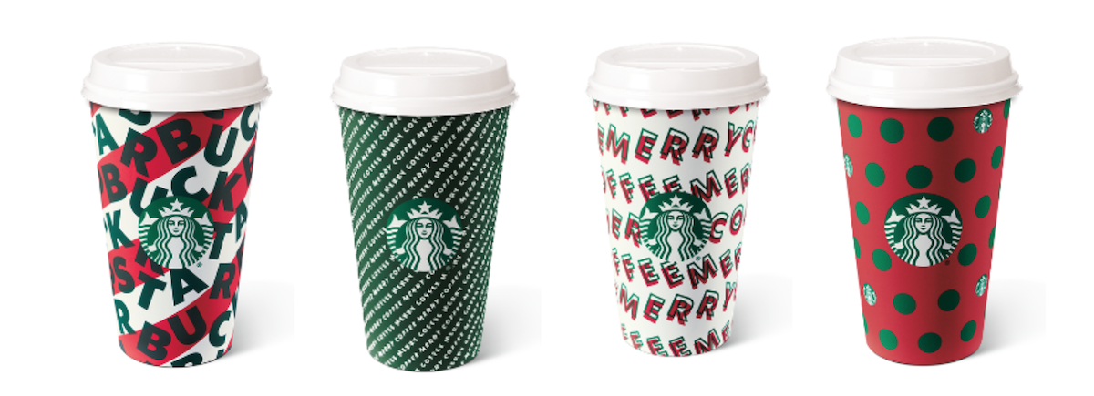 The holidays are BACK at Starbucks! 🎄 🎁 ❄️