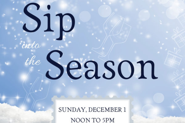 Holiday shop in style as you Sip into the Season on The Westside Wine Trail