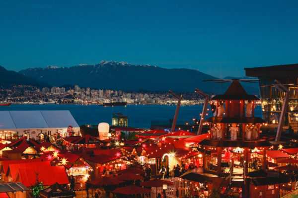 TODAY, Vancouver Christmas Market Opens Its Doors in Celebration of its 10th Anniversary Season