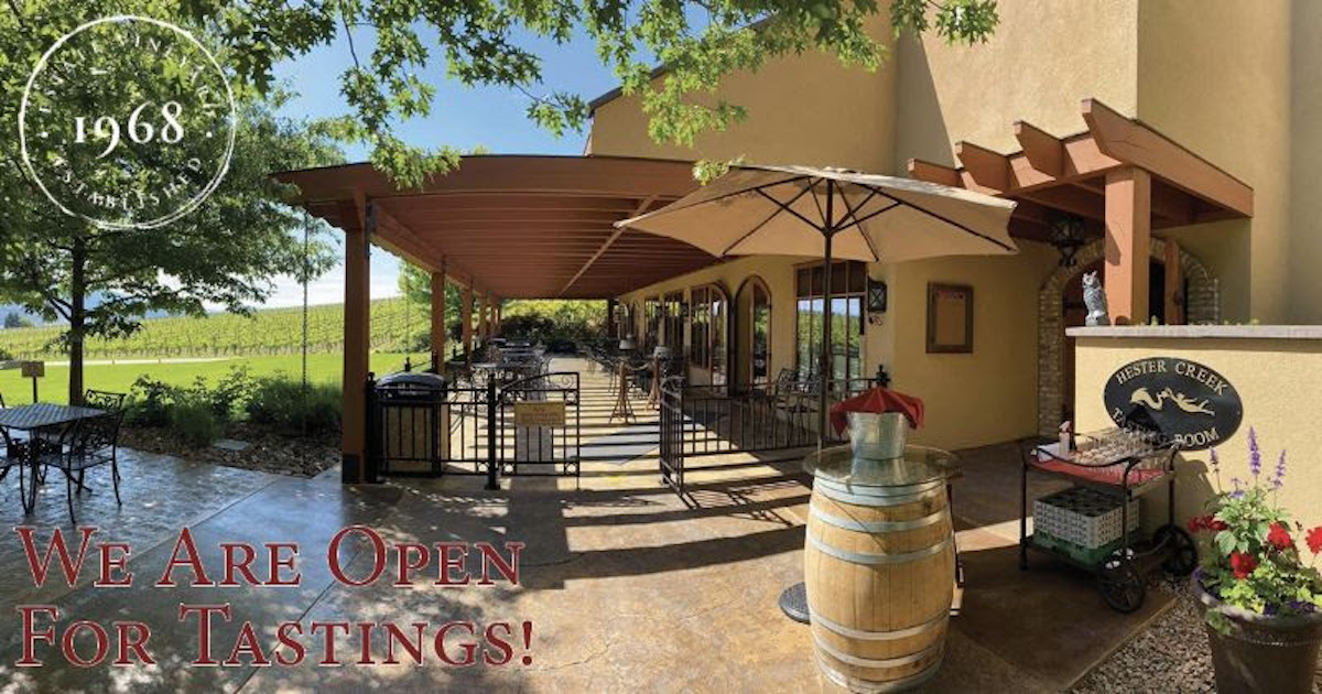 Wine, dine & stay at Hester Creek Estate Winery