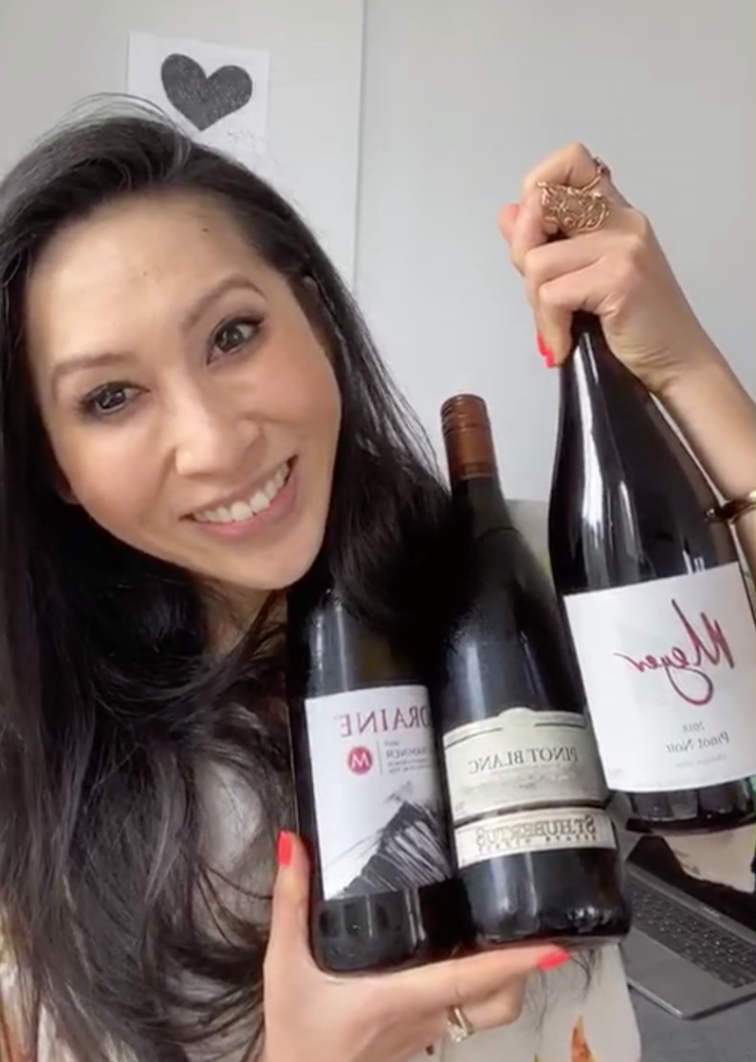 #LetsGetVirtual At Home With Mijune Pak: Wine Wednesdays June 3rd Finale!