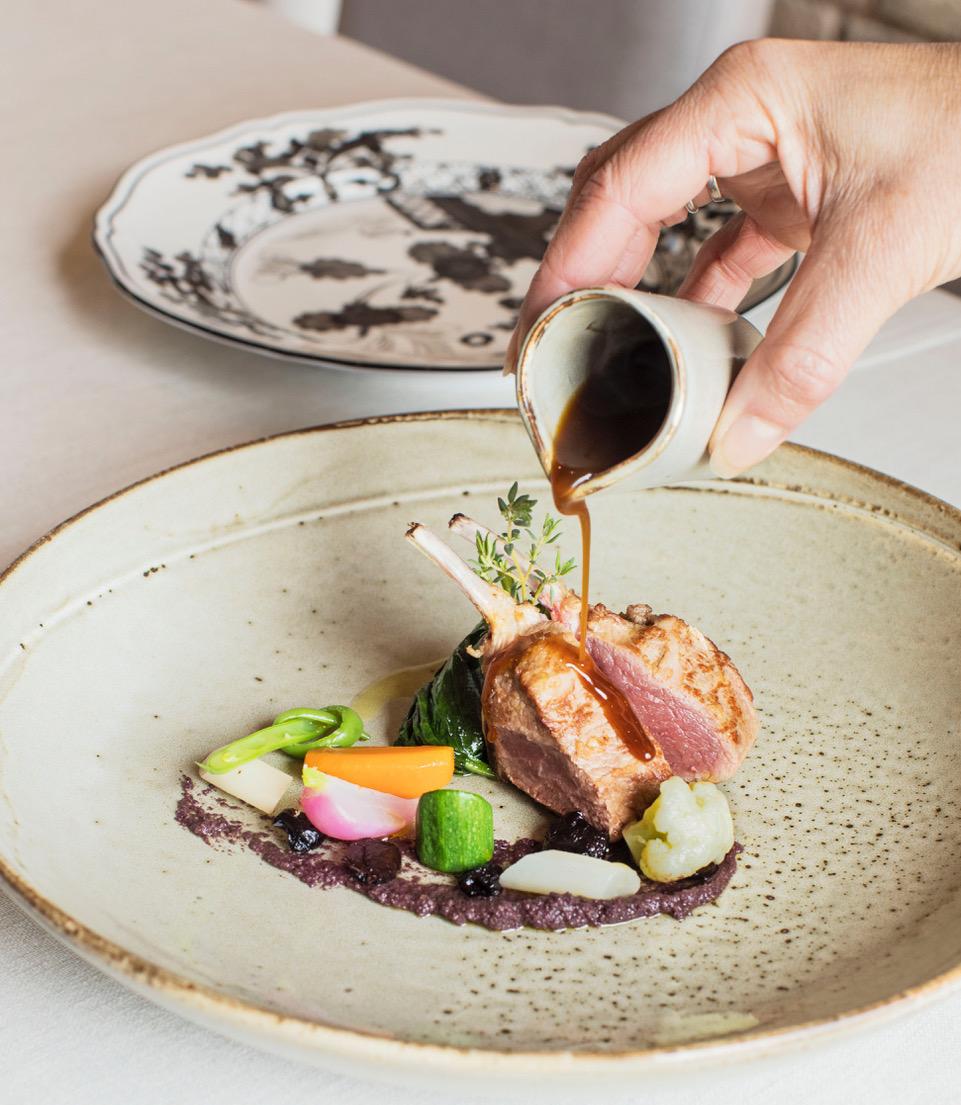 #TasteofThursday Marc's Rack of Lamb paired with Barbaresco Riserva